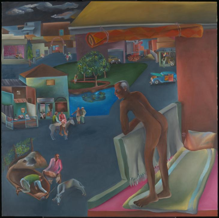 You Can't Please All 1981 Bhupen Khakhar 1934-2003 Purchased 1996 http://www.tate.org.uk/art/work/T07200