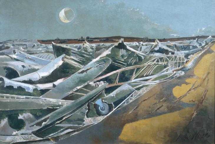 Totes Meer (Dead Sea) 1940-1 Paul Nash 1889-1946 Presented by the War Artists Advisory Committee 1946 http://www.tate.org.uk/art/work/N05717