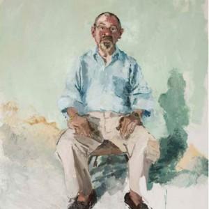 John Sonsini, Blake, 2005, oil on canvas, 72 x 60 in. Collection of Blake Byrne.