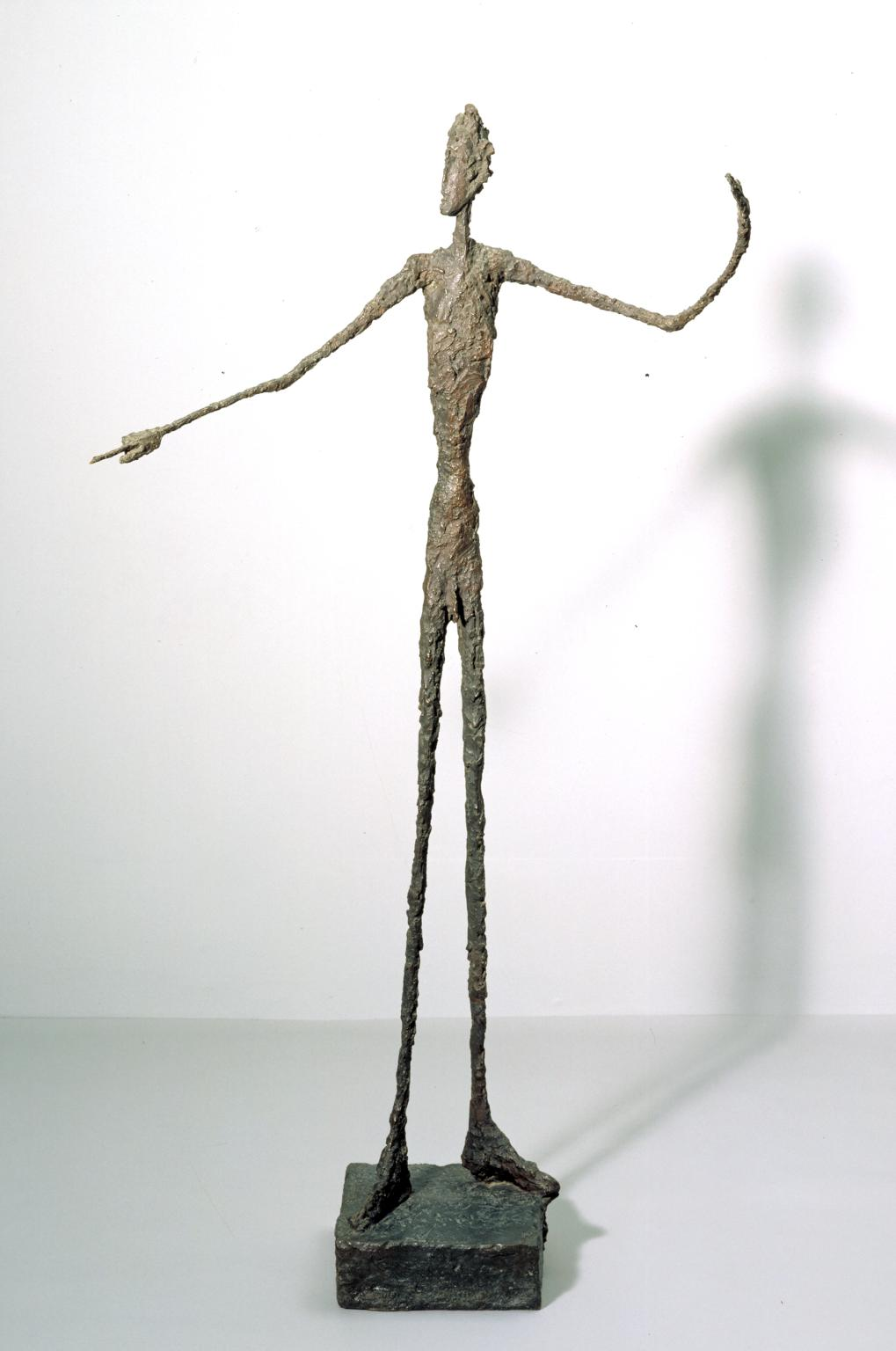 Man Pointing 1947 Alberto Giacometti 1901-1966 Purchased 1949 http://www.tate.org.uk/art/work/N05939
