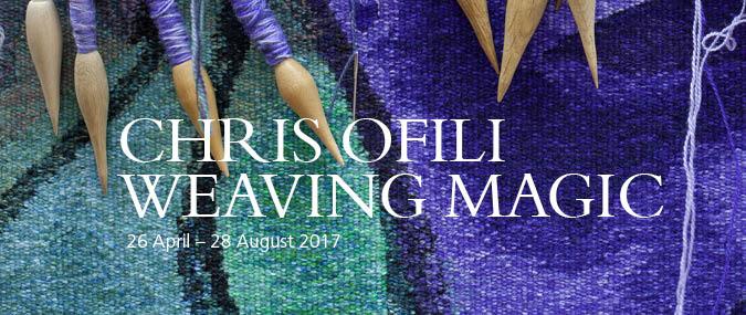 Chris Ofili Weaving Magic