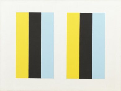John McLaughlin Painting Total Abstraction