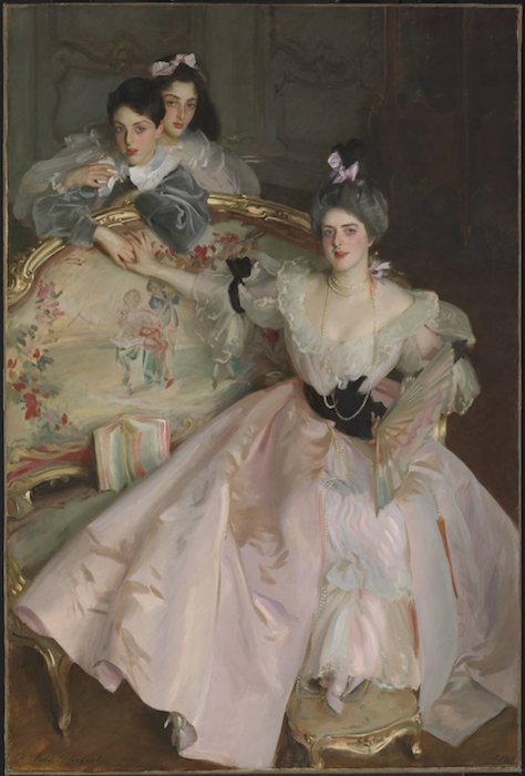 Mrs Carl Meyer and her Children 1896 John Singer Sargent 1856-1925 Bequeathed by Adèle, Lady Meyer 1930, with a life interest for her son and grandson and presented in 2005 in celebration of the lives of Sir Anthony and Lady Barbadee Meyer, accessioned 2009   http://www.tate.org.uk/art/work/T12988