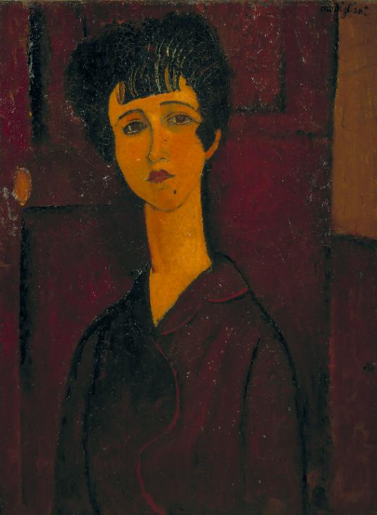 Portrait of a Girl c.1917 Amedeo Modigliani 1884-1920 Bequeathed by C. Frank Stoop 1933 http://www.tate.org.uk/art/work/N04723