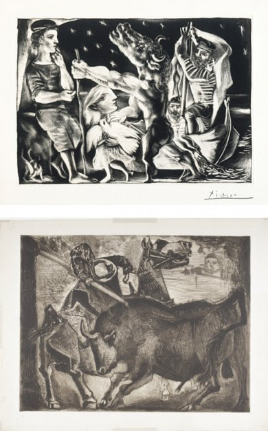 Picasso and his Printers