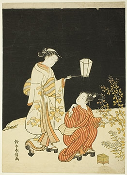 By the Light of the Moon Nocturnal Japanese Prints