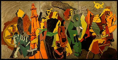 India Modern The Paintings of M. F. Husain