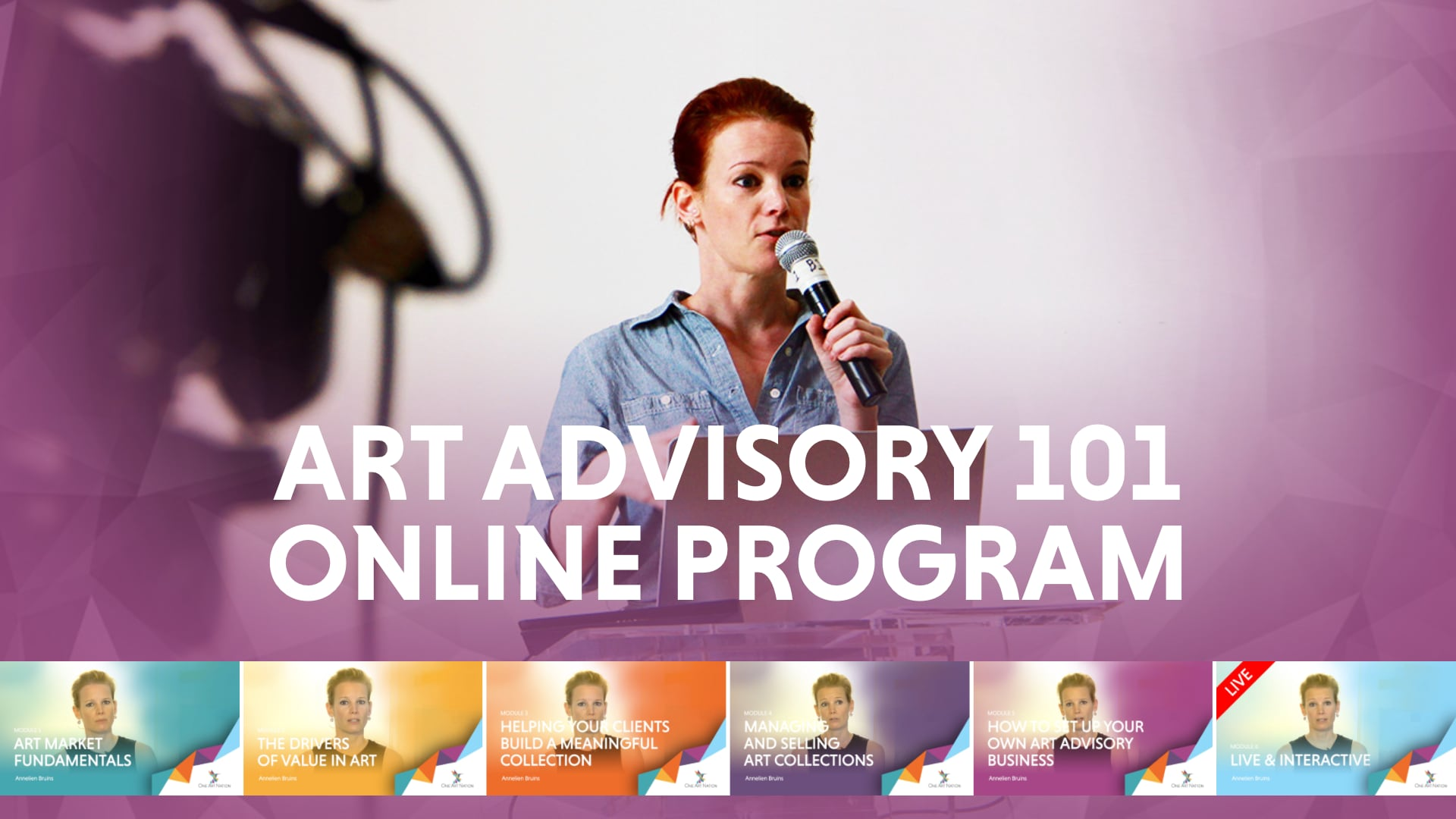 Art Advisory 101 Online Program