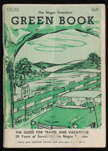 """The Negro Travelers' Green Book,"" from the fall of 1956. Credit New York Public Library."