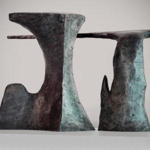 Hubert Phipps, Paradise, 2015, Cast bronze, 17 x 24 x 9 in. (43.18 x 60.96 x 22.86 cm)