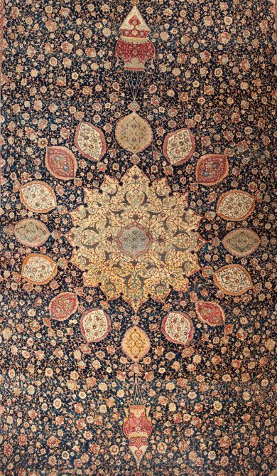 A Tale of Two Persian Carpets (One by One) The Ardabil and Coronation Carpets