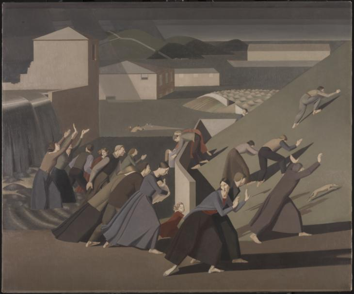The Deluge 1920 Winifred Knights 1899-1947 Purchased with assistance from the Friends of the Tate Gallery 1989 http://www.tate.org.uk/art/work/T05532