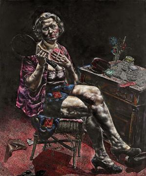 Flesh Ivan Albright at the Art Institute of Chicago
