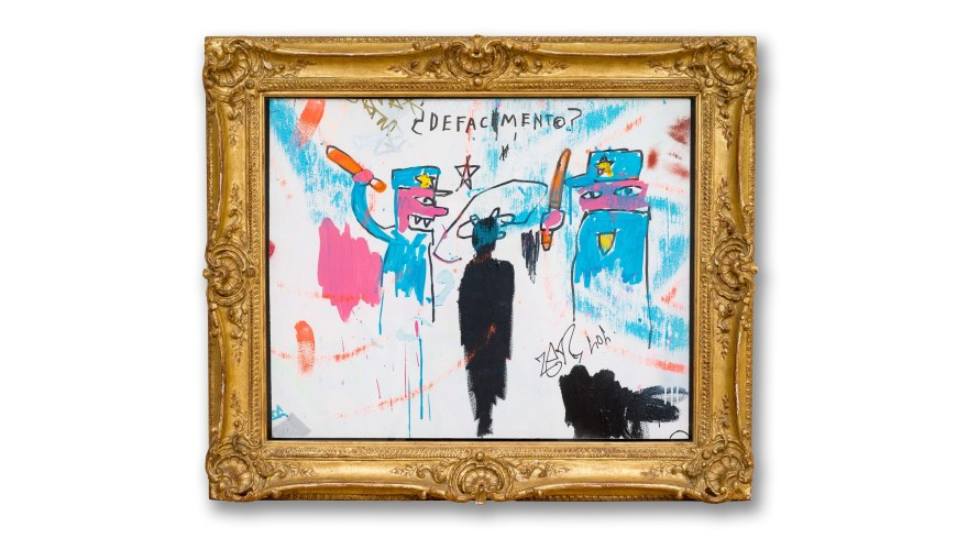 "Basquiat's ""Defacement"" The Untold Story"