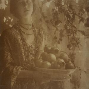 Keene_Pomegranates_circa-1910-framed-print