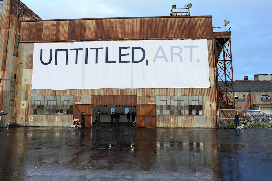 UNTITLED, Art launched in San Francisco on Thursday, January 12, 2016 at Pier 70. Photograph by Casey Kelbaugh